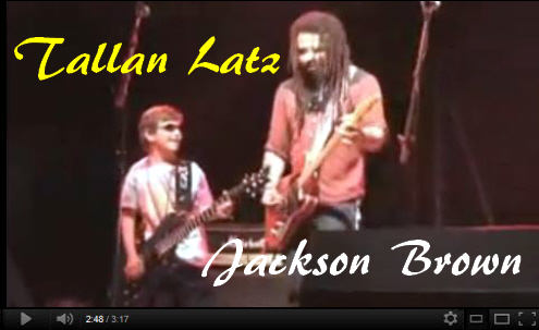 Tallan Latz and Jackson Brown