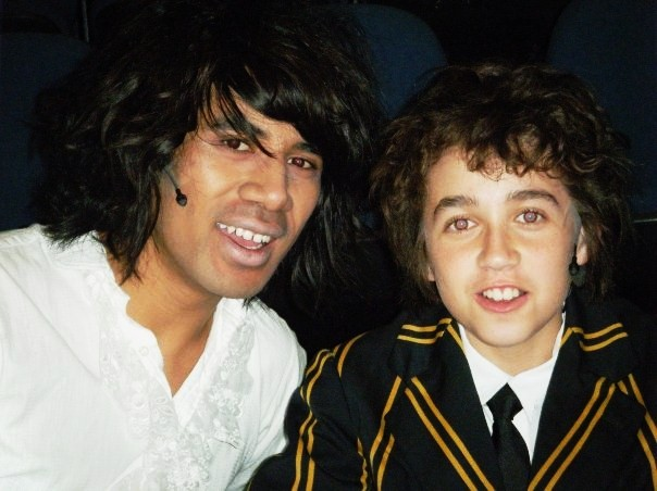 """The two Tommy's in """"Tommy the Musical"""""""