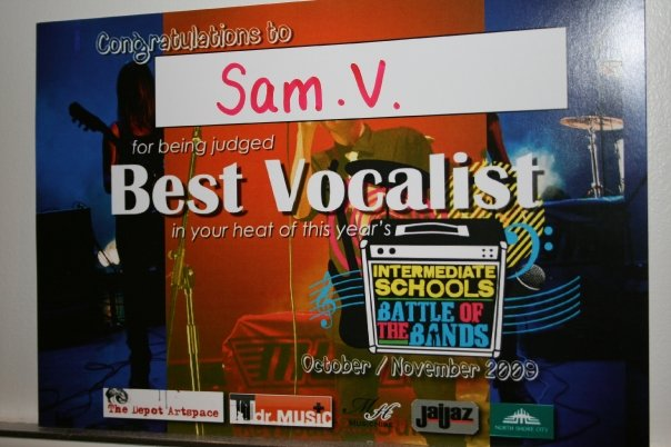 Best Vocalist