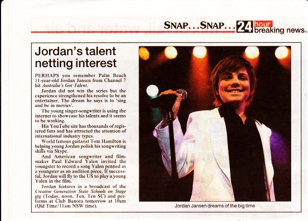 Extra! News Flash! Jordan Net's Big Interest!