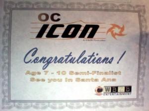 Icon Certificate Sam S