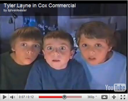 Tyler Layne in Cox Commercial