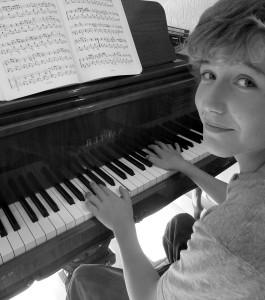 Loic On Piano