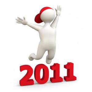 3D Man celebrates 2011