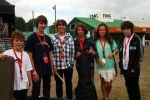 Parachute Band Members