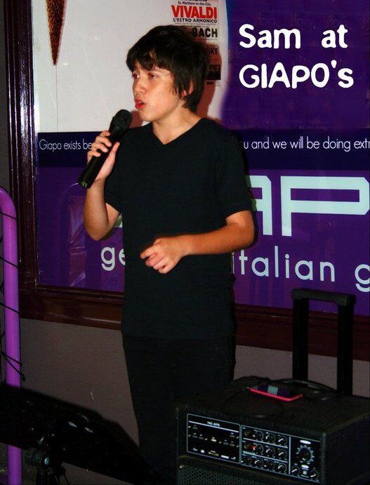SAM AT GIAPOS