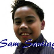 Sensational Singing Sam Santiago
