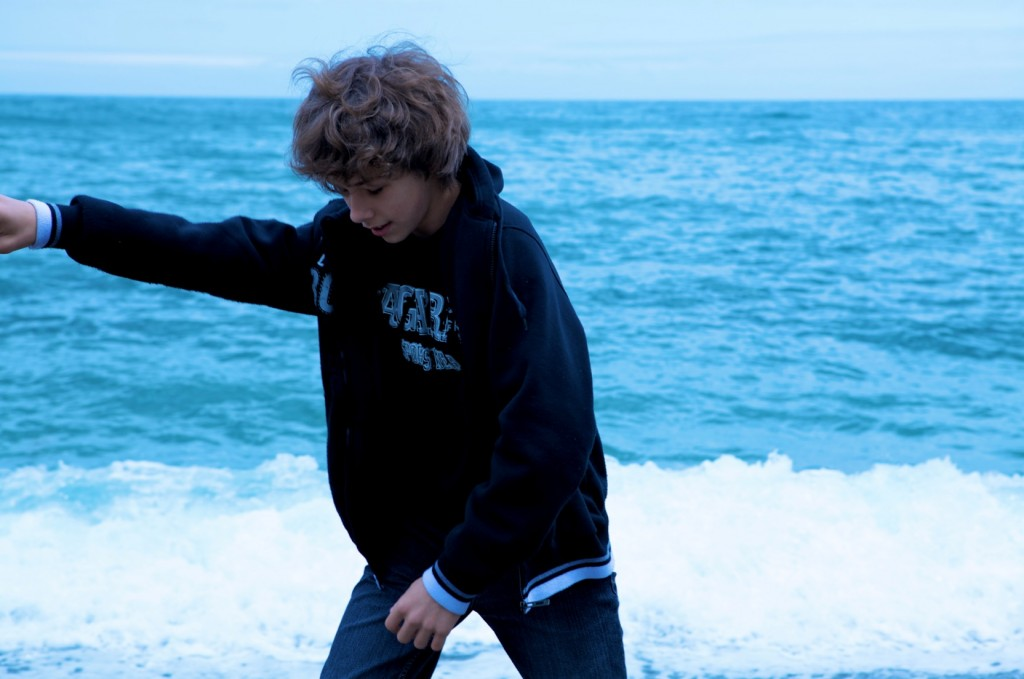 Dima Borodin On Beach