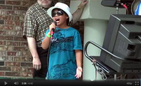 Sam Performs Don't Stop Believing