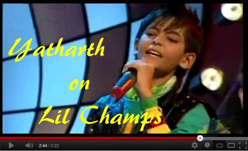 Lil Champs 2009 Yatharth Rastogi