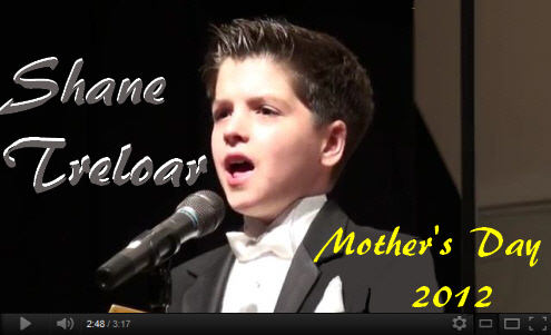 Shane Treloar Performs Mothers Day 2012