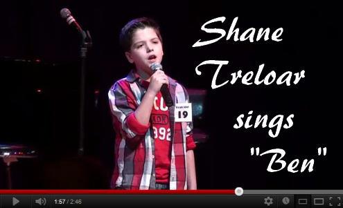 Shane Treloar sing Ben by MJ