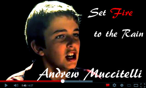 Andrew Muccitelli Set Fire to the Rain Video
