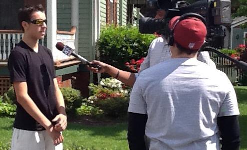 Christopher McGinnis Interview TV