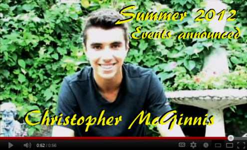 Christopher McGinnis Announcement