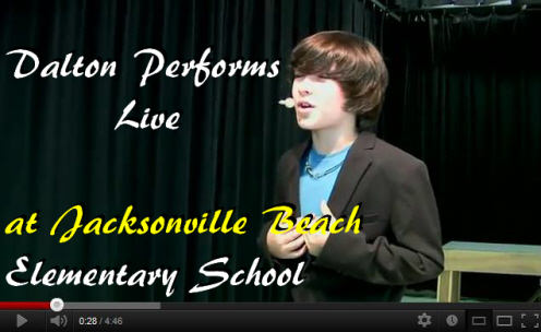 Dalton Live at Elementary School