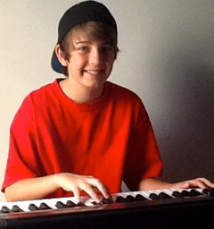 Andrew at Piano