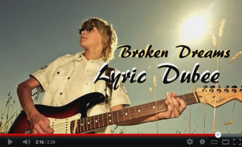 Lyric Dubee Broken Dreams Video