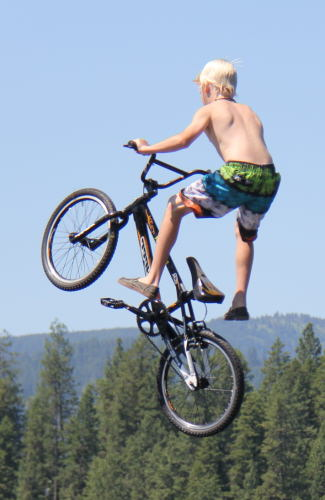 Carson Jumps Ramp
