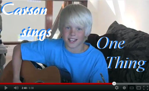 Carson Lueders One Thing Video