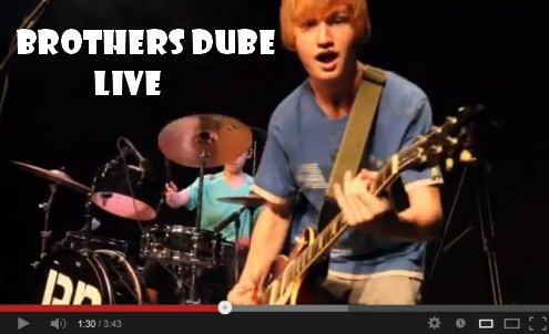 Brothers Dube Perform Live