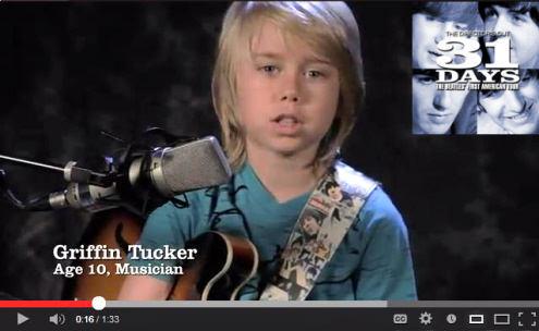 Griffin Tucker 31 Days video