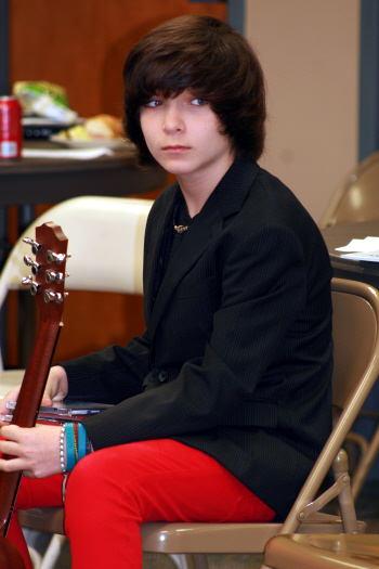 Dalton sits