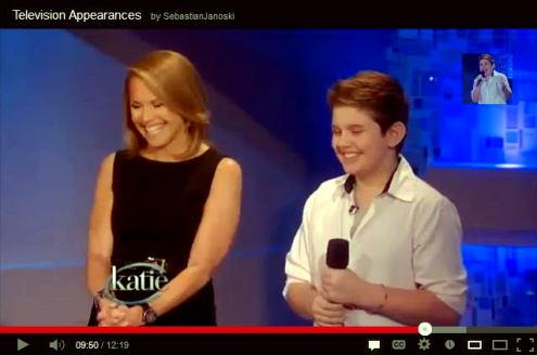 Sebastian Janoski on Katie Couric