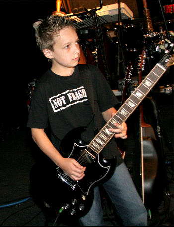 Young Martin Performing