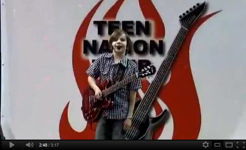 Teen Nation Tour Beamer Wigley