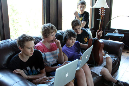 Prodigy Camp relaxing artists