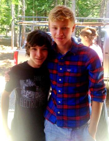 Dalton & Thilo at Prodigy Camp