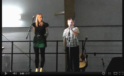 Brendan Guy and Joanne Janzen
