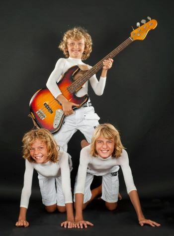 Kay (left), Sven (Bass), Lars (right)