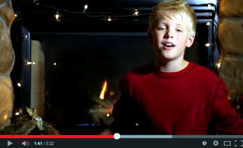 Carson Lueders Christmas Song