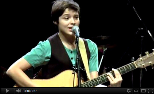 Cameron Molloy Christmas Performance