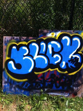 Cameron Molloy Graffiti Art
