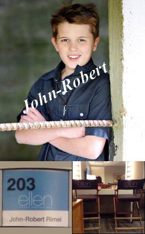 John Robert on Ellen