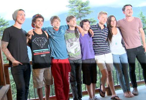 Group Photo on Deck overlook