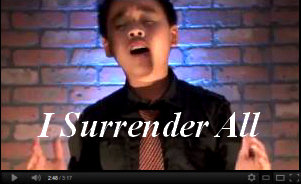 I Surrender All Sam Santiago