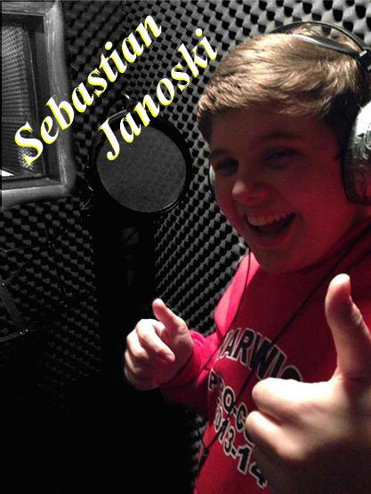 Sebastian in Studio