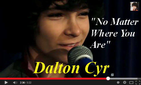 Dalton's Music Video for one of his new singles