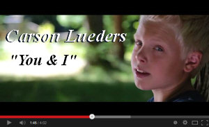 Carson Lueders You & I One Direction cover