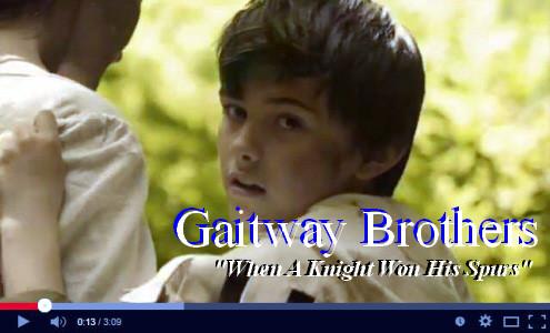 Knight won his spurs Gaitway Bros