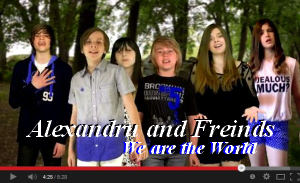 Alexandru and Friends We are the World