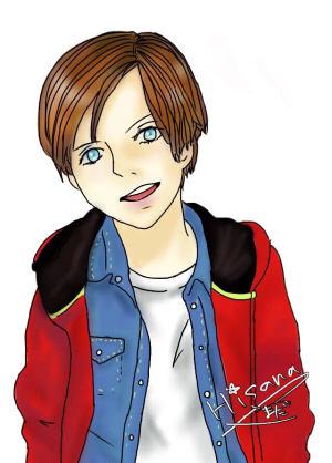 Beamer Drawing by Hisana Yamada autographed300a