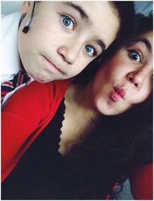 Sebastián and Sister