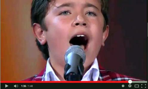 Sebastián on Reality Show