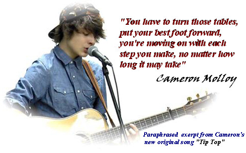 Cameron Molloy 2014 quote