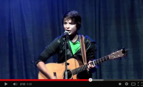 Cameron Performs